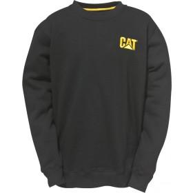 (キャタピラー) Caterpillar メンズ C1910752 ロゴ入り スウェットシャツ トレーナー トップス 男性用 (3XL) (ブラック)