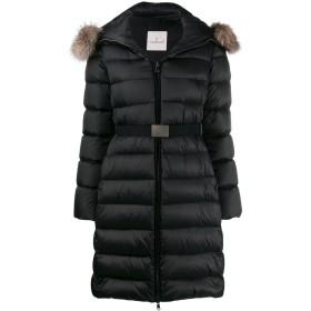 Moncler ベルテッド パデッドコート - ブラック