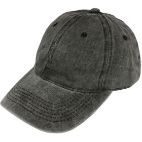 [ワントゥーテンピープルセレクト]帽子 ピグメント キャップ ブラック フリー