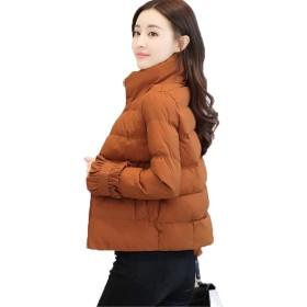 [ベィジャン] レディース トップス 中綿コート ショート ジャケット かわいい おしゃれ 防風 保温 防寒 あったか 通勤通学 写真通りS