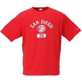 (チャンピオン) CHAMPION 大きいサイズ ストーンウォッシュ加工半袖Tシャツ 4L レッド