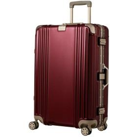 スーツケース キャリーケース キャリーバッグ Lサイズ ディープクォーツレッド ダイヤルロック ダブルキャスター レジェンドウォーカー 5509-70