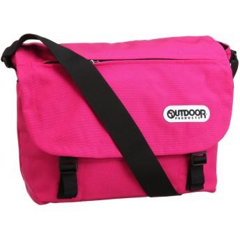 [アウトドアプロダクツ] ショルダーバッグ A4サイズ対応 62031 メンズ ピンク