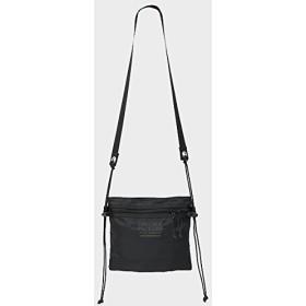 (フレドリックパッカーズ) FREDRIK PACKERS 420D UTILITY SACK Sサイズ Black ユーティリティー サック サコッシュ 刺繍ベージュ
