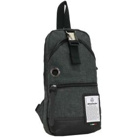 [ビアンキ] ボディバッグ nbtc-01b-black メランジブラック One Size