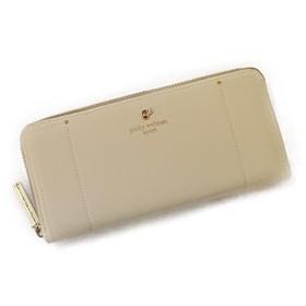 レディース 長財布 おしゃれ 大容量カード収納【PS-2492】 (WHITE)