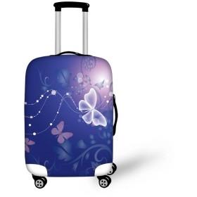 [FOR U DESIGNS(JP)] スーツケースカバー 伸縮素材 保護 sサイズ