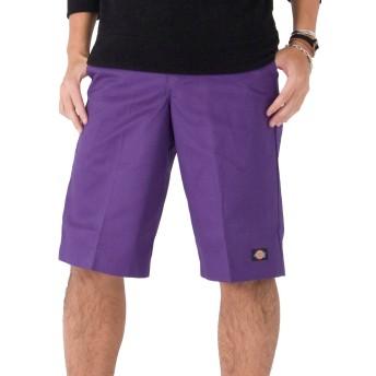 [ディッキーズ] Dickies 42283 セルフォンポケットワークショーツ ハーフパンツ MId Purple 28インチ