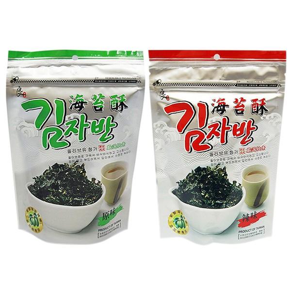 良澔 現烤海苔酥(50g) 原味/辣味【小三美日】D244612