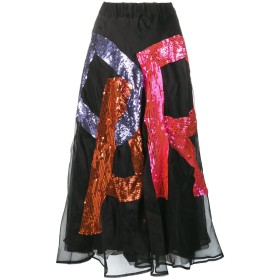 P.A.R.O.S.H. Fantasia スカート - ブラック