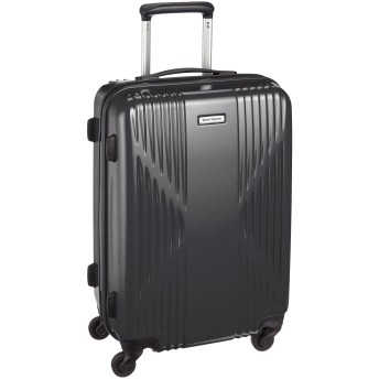 [ワールドトラベラー] スーツケース 日本製 クリアウォーター サイレントキャスター 40L 53cm 3.4kg 04062 02 ガンメタリック