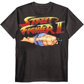 (テラソラル) terasolar ストリートファイターⅡ エドモンド本田 Tシャツ ブラック XL