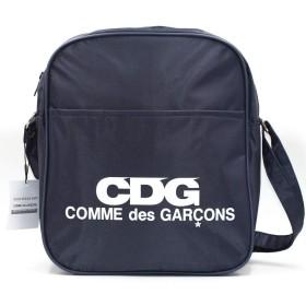 コムデギャルソン CDG ロゴ バッグ ショルダーバッグ 斜め掛け COMME des GARCO (NAVY)