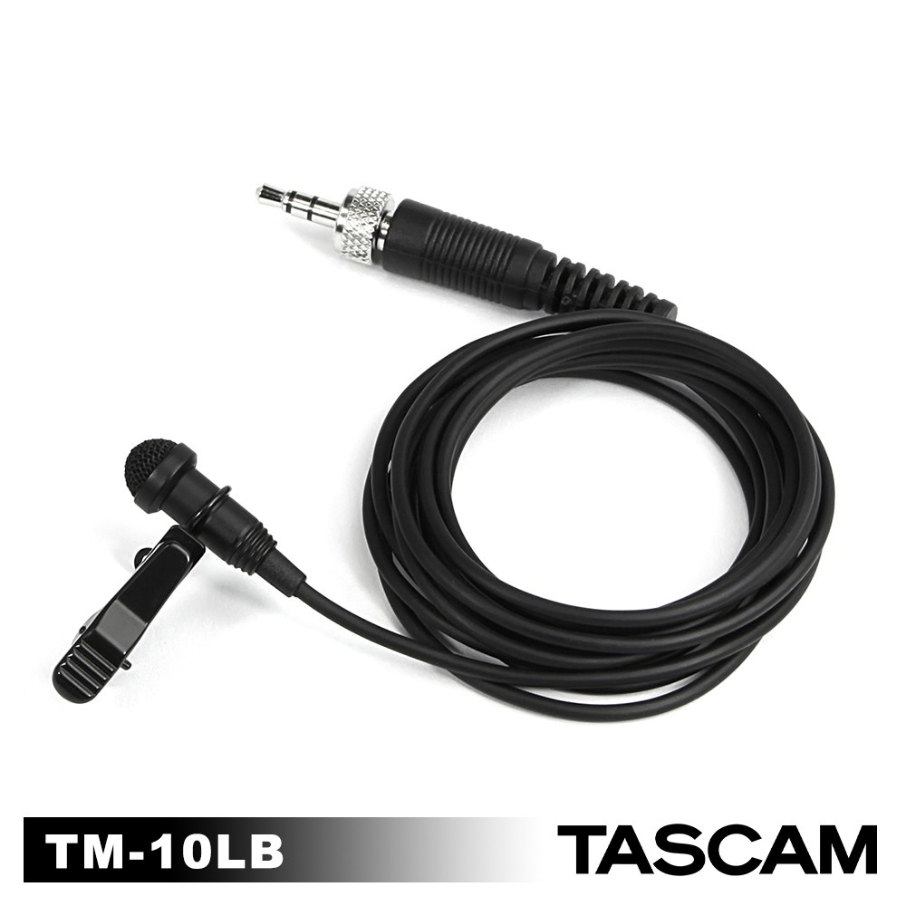 TASCAM TM-10LB 領夾式麥克風 黑色 TM-10LB 公司貨