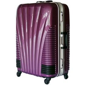[BB-Monsters] ビービーモンスターズ ストッパー付 スーツケース TSAロック搭載 フレームタイプ 旅行カバン 鳳凰 (19、小型、SS, パープル)
