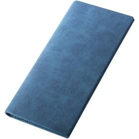 [BLUE SINCERE] メンズ 長財布 カード入れ お札入れ 最薄部0.5cm (小銭入れなし) SW1cn クリムゾンネイビー