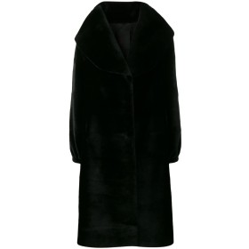 Liska ファー コート - ブラック