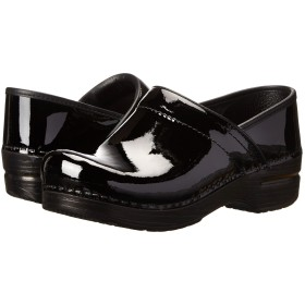 [ダンスコ] ユニセックスクロッグズ・スライド・靴 Professional Black Patent Leather 36 (US Women's 5.5-6) (23-23.5cm) Regular [並行輸入品]