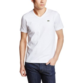 [ラコステ] Tシャツ TH632E メンズ ホワイト EU 004-(日本サイズL相当)