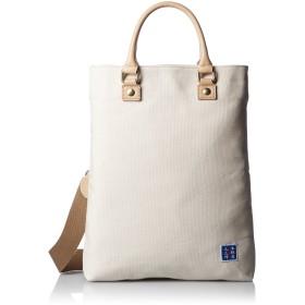 [キワダ] ショルダーバッグ 帆布 3WAY 【木和田】木綿屋五三郎 鞄の聖地兵庫県豊岡市製 生成り