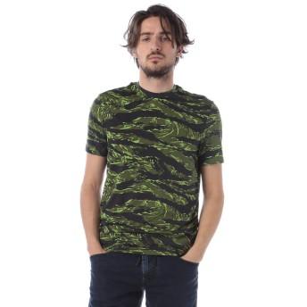 (ディースクエアード) DSQUARED2 迷彩柄プリント クルーネック 半袖 アンダーTシャツ [D2D9M202320]カモフラージュ / 2XL [並行輸入品]