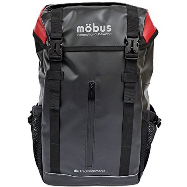 [モーブス] MOBUS リュック バックパック リュック メンズ レディース フラップ mo-024 リュックサック 通学 通勤 大容量 かぶせ PC パソコン A4 黒 ターポリン 防水 撥水