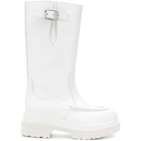 Mm6 Maison Margiela サイドバックル ブーツ - ホワイト