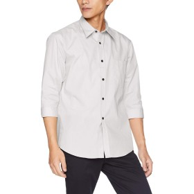 [アルベ] シャツ EP7618 メンズ オフホワイト 日本 3L-(日本サイズ3L相当)