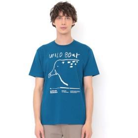 (グラニフ) graniph Tシャツ ワイルドボアー (インディゴブルー) メンズ レディース M (g01) (g14)