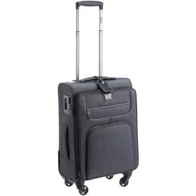 [ストラティック] スーツケース ソフト Go First Stop Later ドイツ製 ストッパー付き 保証付 35L 55 cm 2.78kg シティブラック