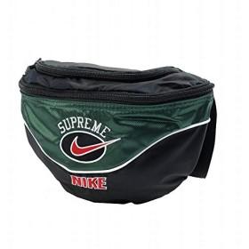 SUPREME シュプリーム ×NIKE 19SS Shoulder Bag ショルダーバッグ 緑 フリー 並行輸入品