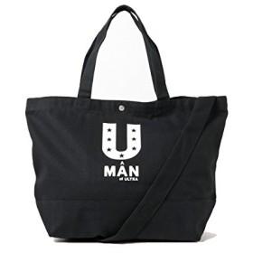 (マージン) Magine A MAN of ULTRA x Magine CANVAS TOTE BAG 1718-UT04 FREE ブラック