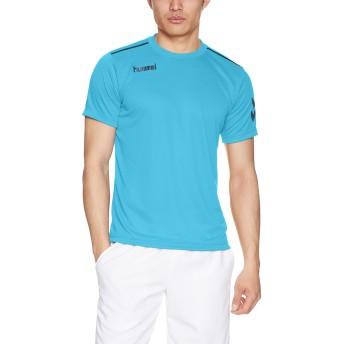 (ヒュンメル)hummel サッカーウェア ワンポイントドライTシャツ HAY2078 [メンズ] HAY2078 67 L.ブルー (67) M
