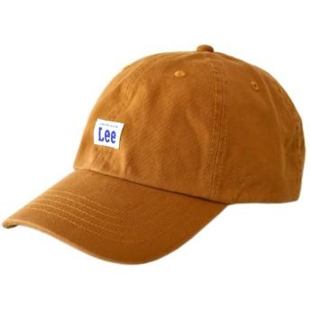 (リー) Lee キャップ 綿 帽子 ローキャッ ボックスロゴ メンズ レディース キッズ / B6J / シニアF 23オレンジ