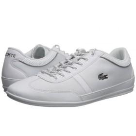 Lacoste(ラコステ) メンズ 男性用 シューズ 靴 スニーカー 運動靴 Misano Sport 218 1 - White/White 10.5 M [並行輸入品]