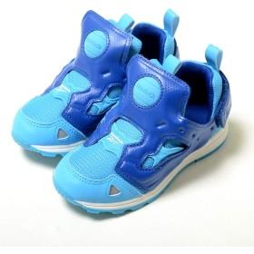 [リーボック] 【12cm-16cm】 VERSA PUMP FURY SYN バーサ ポンプ フューリー SYN ブルー ベビー BABY キッズ KIDS 子供靴 スニーカー cm9175 10(16),-