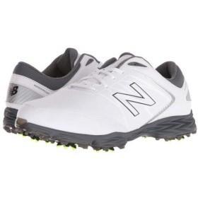 [ニューバランス] Golf ゴルフ メンズ 男性用 シューズ 靴 スニーカー 運動靴 Striker - White/Grey 14 EE - Wide [並行輸入品]