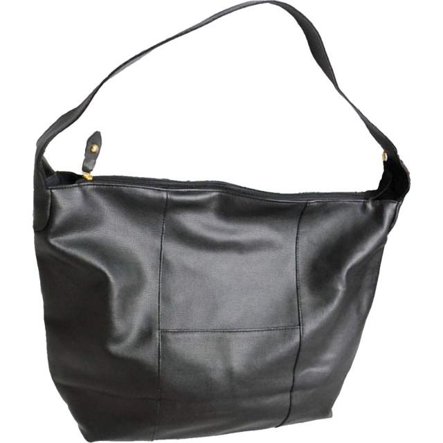 (Muu3) マザーズバッグ ショルダーバッグ 斜めがけ レディース 大容量 斜めがけバッグ エコバッグ (ブラック)