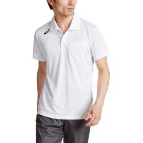 [アシックス] アウトドア シャツ XA6168 メンズ ホワイト 日本 S-(日本サイズS相当)