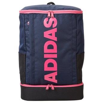 カバンのセレクション アディダス リュック スクエア型 27L B4 ADIDAS 55855 シューズ収納 男女兼用 メンズ レディース ユニセックス ネイビー フリー 【Bag & Luggage SELECTION】