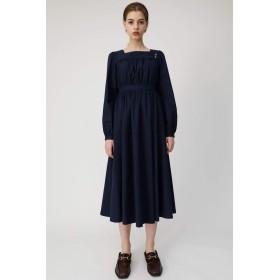 [マウジー] ワンピース ドレス SQUARE NECK LONG ドレス 010CSS30-0590 M ネイビー レディーズ
