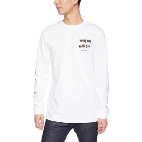 [クイックシルバー] 長袖Tシャツ QUIK BONE LS EQYZT05040 [メンズ] WBB0 US S (日本サイズM相当)
