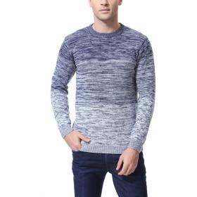 メンズ セーター ニットクルーネック 冬 春 薄手 長袖 3l 4l 3カラー ファッション 大きいサイズ 秋 冬 カジュアル