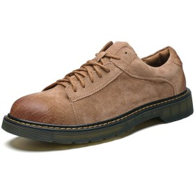 [BTXXY] シューズ 靴 男性 ビジネス カジュアル 通気性 ビジネスシューズ メンズ (Color : Yellowish-brown, サイズ : 24 CM)