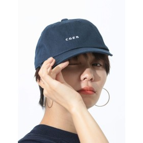 [コーエン] 帽子 チビ ロゴ 刺繍 ベース ボール キャップ メンズ ネイビー Free 75856008034 7900
