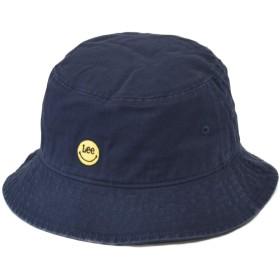 リー (LEE) スマイリー ハット バケットハット 帽子 キャップ スマイル レディース メンズ 日よけ (71 ネイビー)