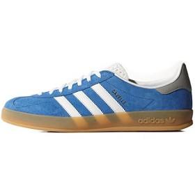 (アディダス オリジナルス) ADIDAS ORIGINALS Gazelle Indoor Shoes ガッツレー レディース メンズ スニーカー Bluebird / Running White M19649 US 5.5/JP 23.5cm [並行輸入品]