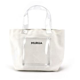 MURUA (ムルーア) ミニトート キャンバス MR-B741 ホワイト
