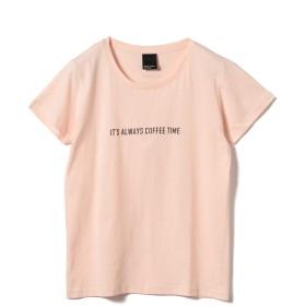 [ビームスライツ] Tシャツ 旅MUSE × BEAMS LIGHTS/COFFEE Tシャツ レディース LT.PINK ONE SIZE