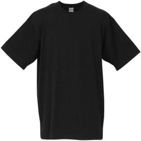 (ラグタイム セレクト) Ragtime Select 大きいサイズ アンダーシャツ Tシャツ メンズ 半袖 クルーネック 3枚セット インナー C010130-04 ブラック 8L
